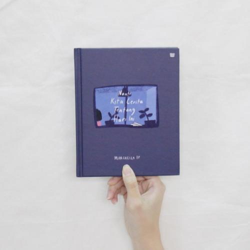 Sampul perdana buku NKCTHI karya Marchella FP
