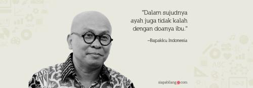 Header Buku Bapakku Indonesia