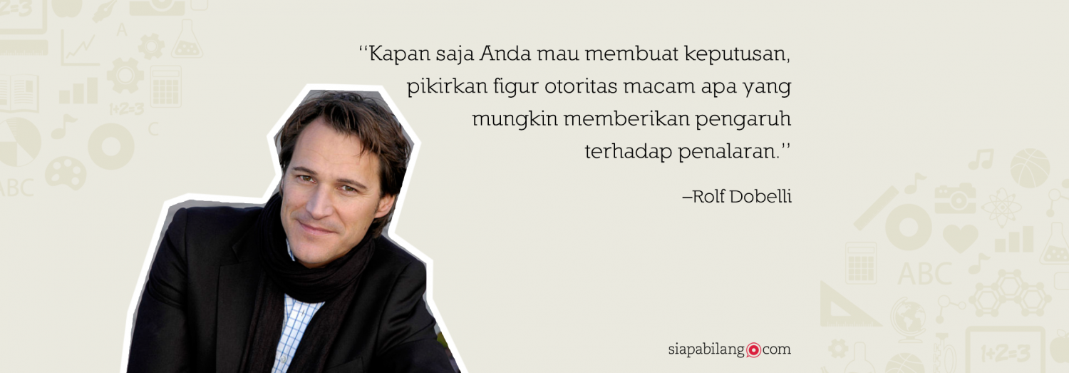 Header Buku The Art of Thinking Clearly