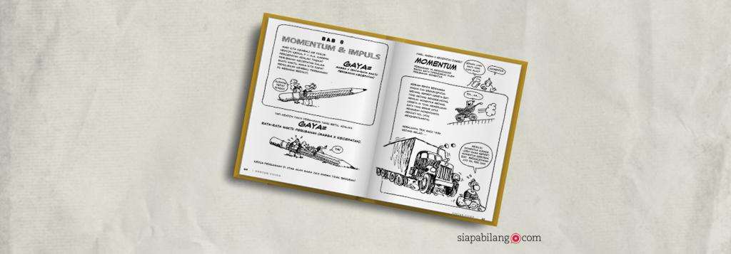 Icip-icip Buku Kartun Fisika