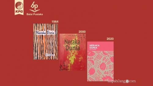 "Transformasi cover buku Balai Pustaka ""Neraka Dunia"""