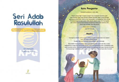 Cover Photo Icip-Icip Buku Seri Adab Rasulullah: Berbakti Kepada Orangtua
