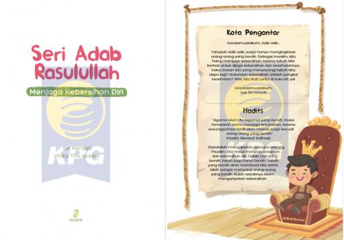Cover Photo Icip-Icip Buku Seri Adab Rasulullah: Menjaga Kebersihan Diri