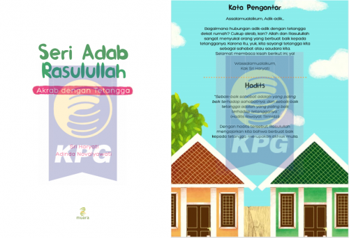 Cover Photo Icip-Icip Buku Seri Adab Rasulullah: Akrab dengan Tetangga