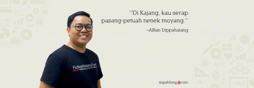 Header Penulis Alfian Dippahatang