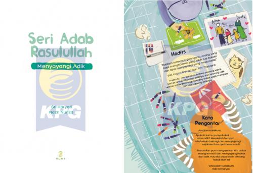 Cover Photo Icip-Icip Buku Seri Adab Rasulullah: Menyayangi Adik