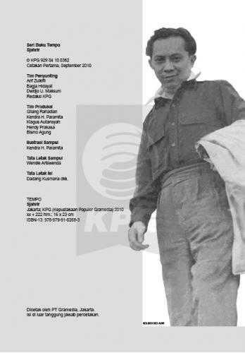 Cover Photo Icip-Icip Buku Seri Tempo: Sjahrir, Peran Besar Bung Kecil