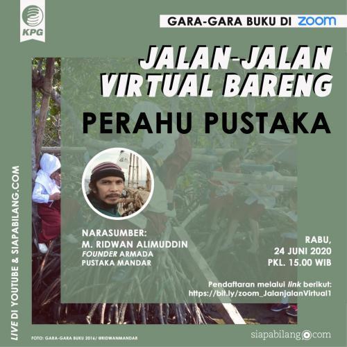 Webinar GGB - Jalan-jalan Virtual Bareng Perahu Pustaka