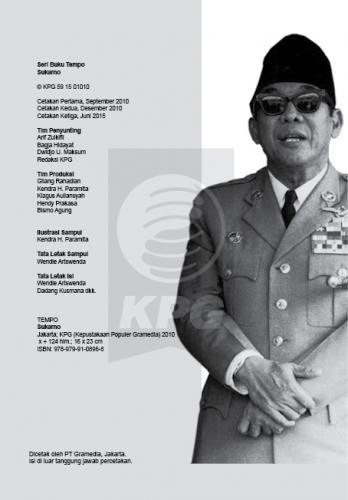Cover Photo Icip-Icip Buku Seri Tempo: Soekarno, Paradoks Revolusi Indonesia