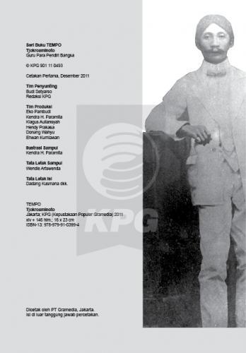 Cover Photo Icip-Icip Buku Seri Tempo: Tjokroaminoto, Guru Para Pendiri Bangsa