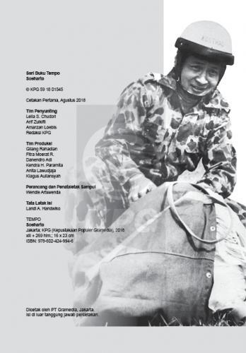 Cover Photo Icip-Icip Buku Seri Tempo: Soeharto, Setelah Sang Jenderal Besar Pergi
