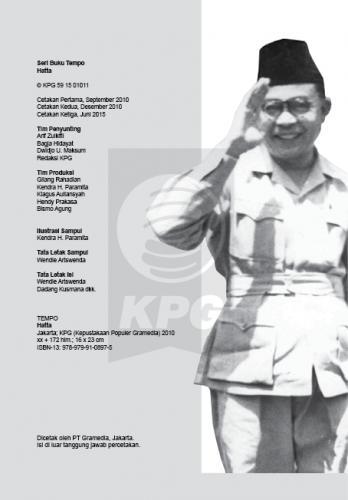Cover Photo Buku Seri Tempo: Hatta, Jejak yang Melampaui Zaman