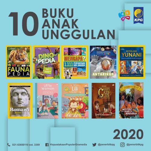 Rekomendasi Buku - 10 Buku Unggulan KPG Kategori Anak