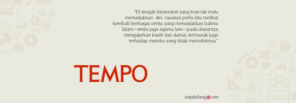 Seri Tempo- Wali Nusantara