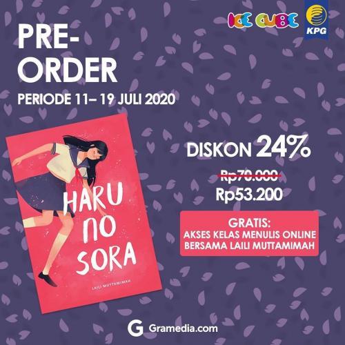 Poster Preorder Haru no Sora