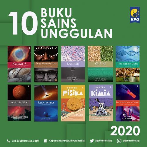 Rekomendasi Buku - 10 Buku Unggulan KPG Kategori Sains