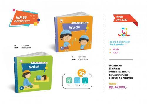 Story Book - Board Book Pintar Anak Muslim