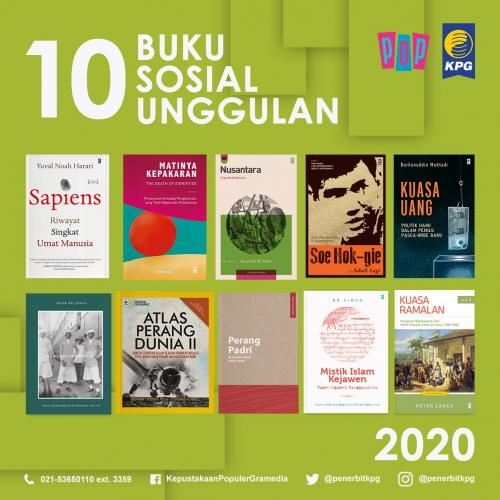 Rekomendasi Buku - 10 Buku Unggulan KPG Kategori Sosial