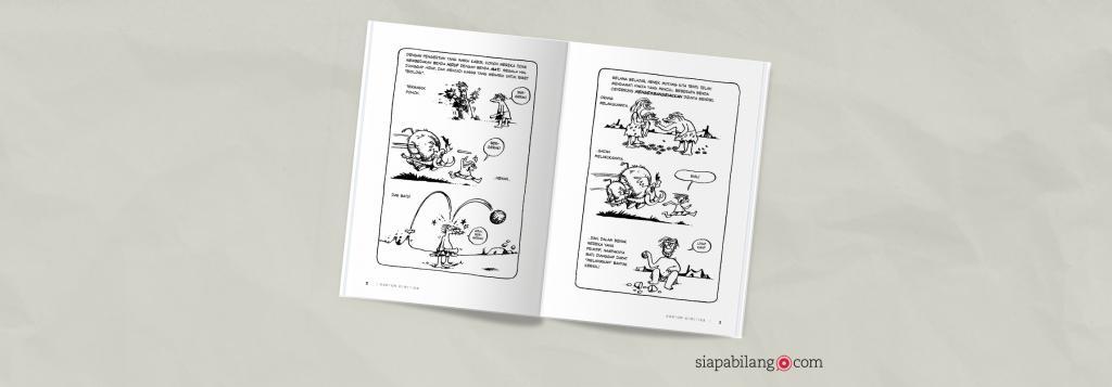 Header Buku Kartun Genetika