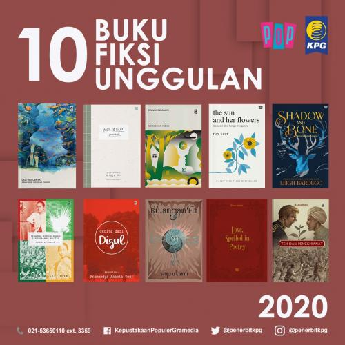 Rekomendasi Buku - 10 Buku Unggulan KPG Kategori Fiksi atau Novel