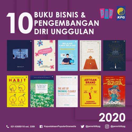Rekomendasi Buku - 10 Buku Unggulan KPG Kategori Bisnis dan Pengembangan Diri