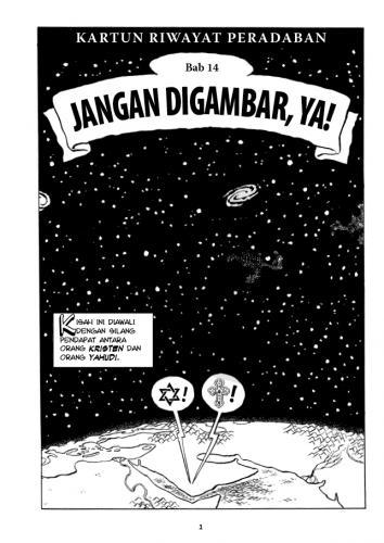 Cover Photo Icip-Icip Buku Kartun Riwayat Peradaban Jilid 3