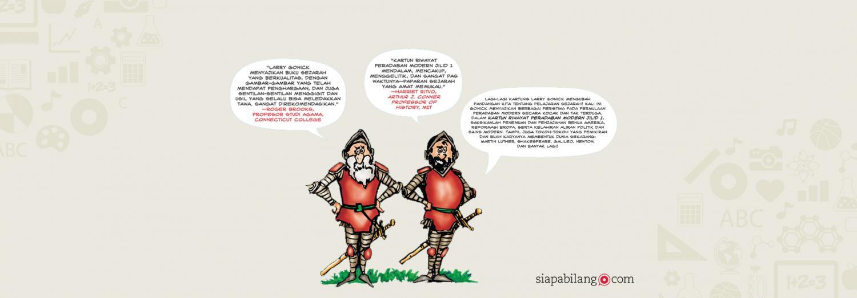 Header Buku Kartun Riwayat Peradaban Modern Jilid 1
