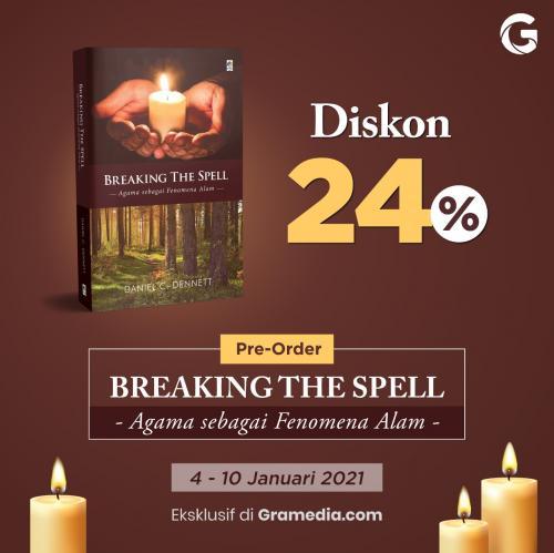 Pre-order Buku Breaking the Spell