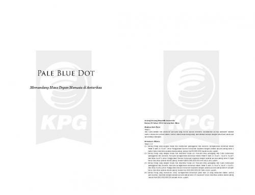 Cover Photo Icip-Icip Buku Pale Blue Dot