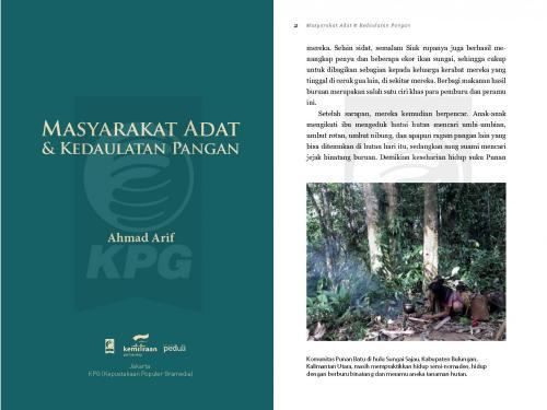 Cover Photo Icip-Icip Buku Masyarakat Adat dan Kedaulatan Pangan