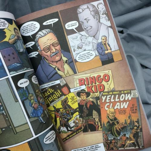 Pengarang dibalik tokoh Black Knight, Ringo Kid, dan Yellow Claw