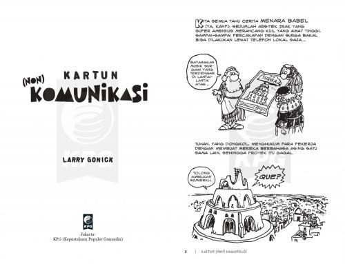 Cover Photo Icip-Icip Buku Kartun Non Komunikasi