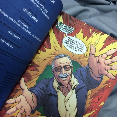The Amazing Fantastic Incredible Stan Lee
