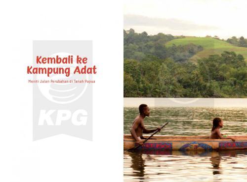 Cover Photo Icip-Icip Buku Kembali ke Kampung Adat: Meniti Jalan Perubahan di Tanah Papua