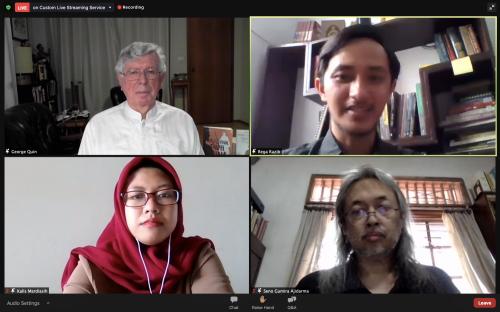 Penutupan Webinar Buka Buku Wali Berandal Tanah Jawa