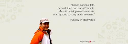 taman nasional indonesia orang