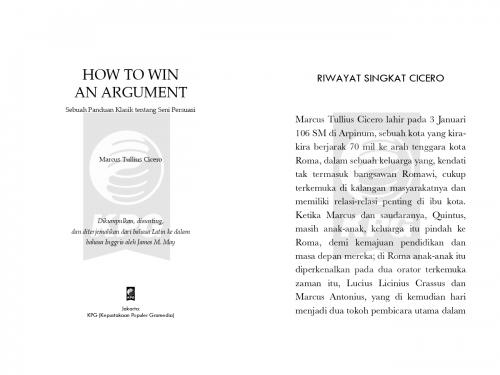 Cover Photo Icip-Icip Buku How to Win an Argument