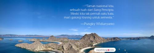taman nasional indonesia pemandangan