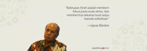 Warisan Arief Budiman