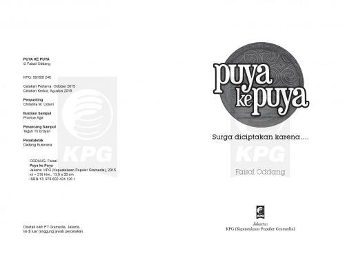 Cover Photo Icip-Icip Buku Puya ke Puya