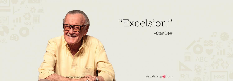 Header Buku Amazing Fantastic Incredible Stan Lee