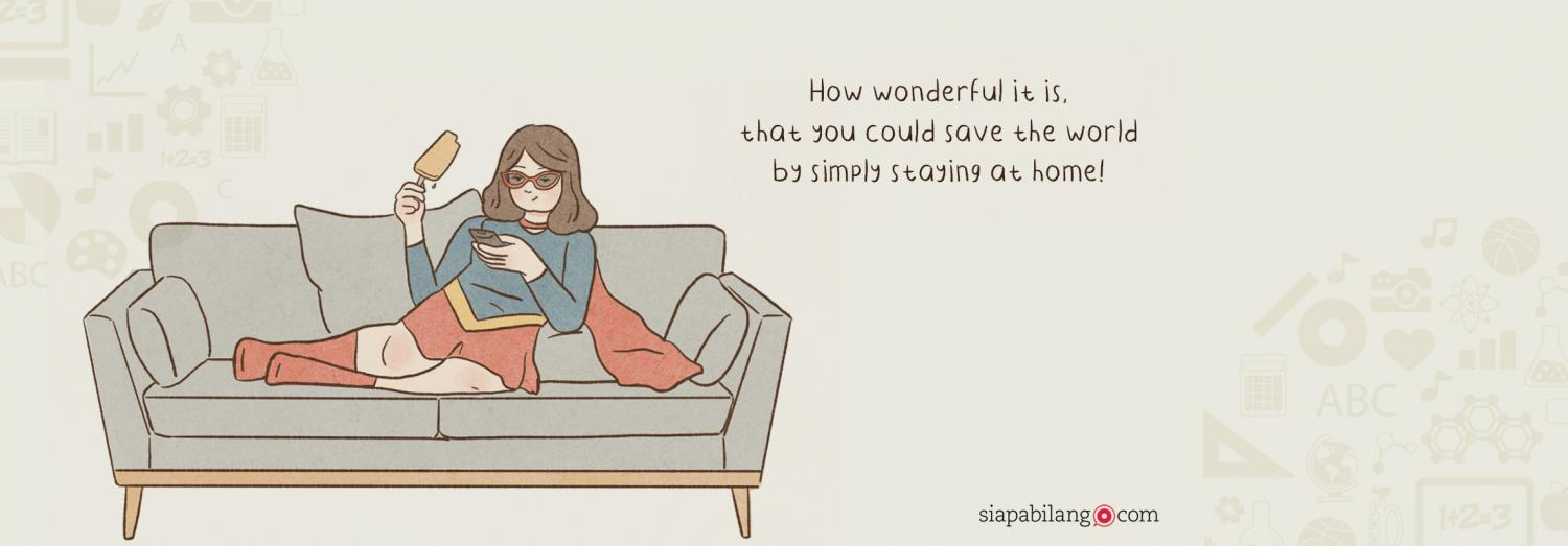 Header Buku Silly Gilly Daily: Stay at Home