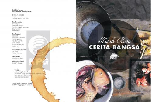Cover Photo Icip-Icip Buku Seri TEMPO: Antropologi Kuliner Nusantara