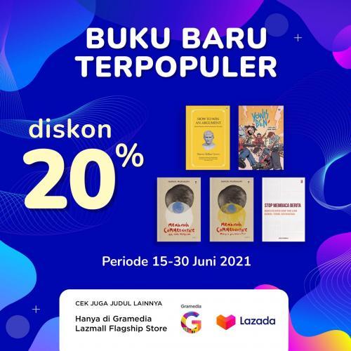 Buku Baru Terpopuler Terbitan KPG Diskon hingga 20% selama 15-30 Juni 2021 di Lazada