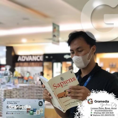 Jalan-jalan ke toko buku Gramedia SMS (Spesial HUT KPG)