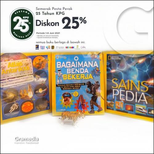 Jalan-jalan ke toko buku Gramedia Puri Indah Mall (Spesial HUT KPG)