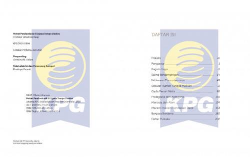 Cover Photo Icip-Icip Buku Potret Pendoedoek di Djawa Tempo Doeloe
