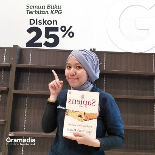 Jalan-jalan ke toko buku Gramedia Matraman (Spesial HUT KPG)