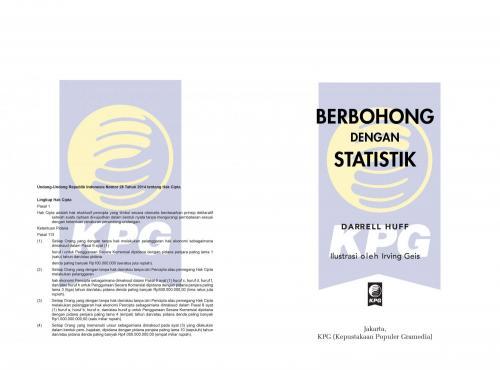 Cover Photo Icip-Icip Buku Berbohong dengan Statistik