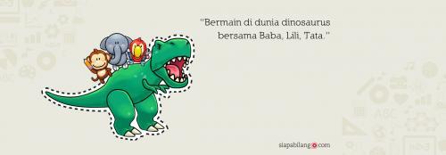 Header Buku Seri Balita Cerdas: Dunia Dinosaurus